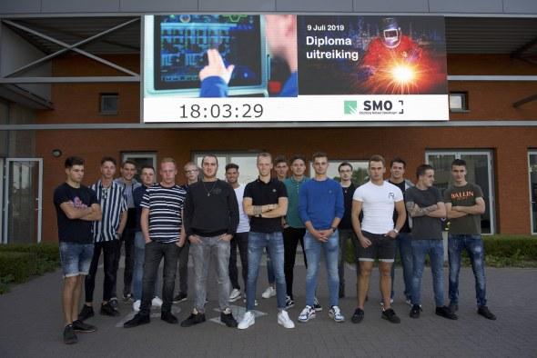24 studenten geslaagd voor SMO - metaalopleiding