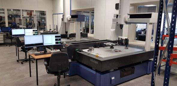 VOVU metaalbewerking: De meetkamer laten bedienen door een robot, een heel proces!