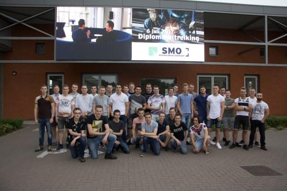 37 SMO-leerlingen geslaagd voor hun metaalopleiding