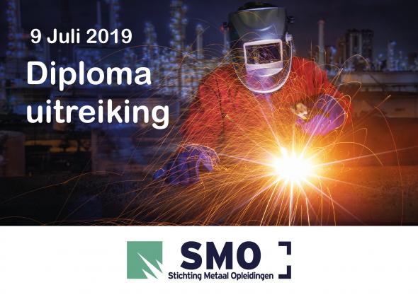 De laatste loodjes! 9 Juli 2019 Diploma uitreiking SMO