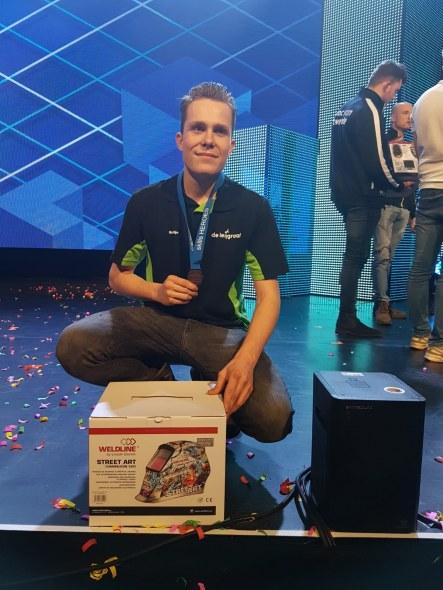 SMO-leerling Martijn van Kemenade verovert 3e plek bij Skills Heroes Lasser