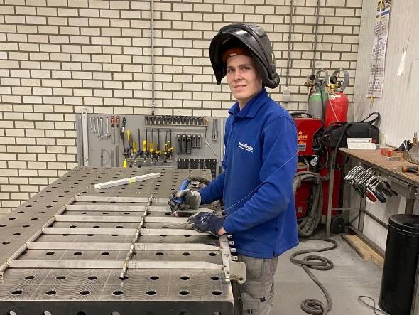 SMO-leerling Martijn van Kemenade van De Leijgraaf naar finale Skills Heroes Lasser MAG/BMBE